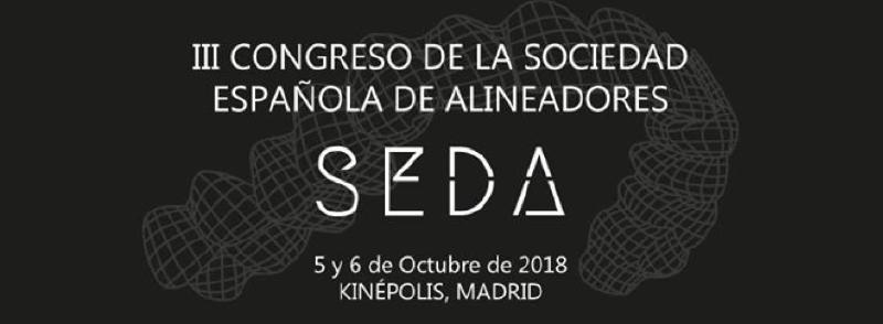 III Congreso Sociedad Española de Alineadores. SEDA 2018