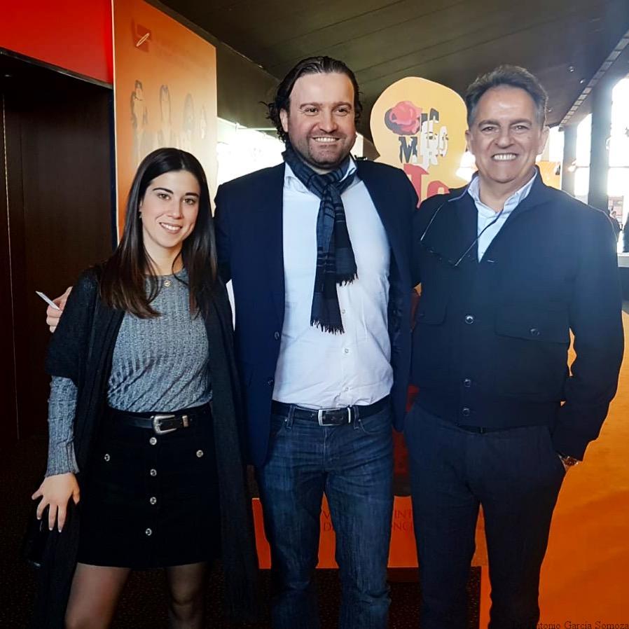 Con Manuel Román, presidente de la SEDA.